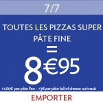 Pizza Super Fine 8,95€